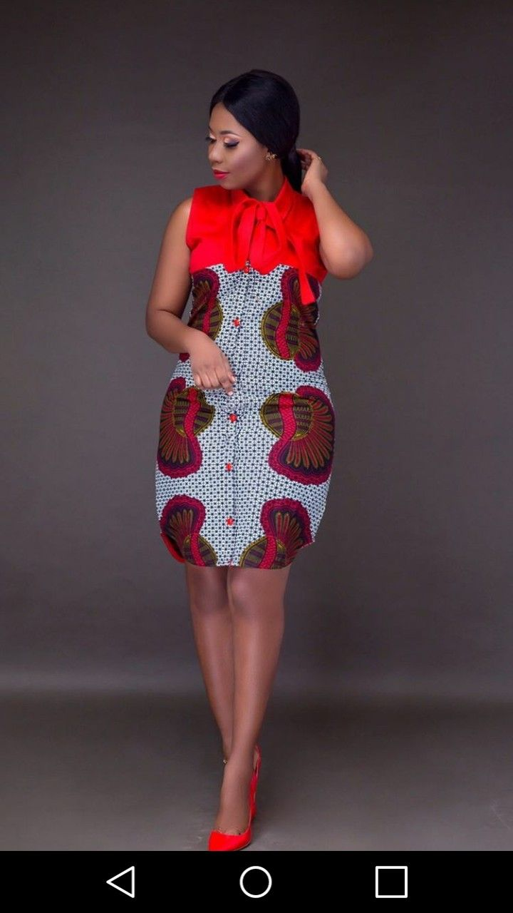 bc3df70bfef But as an A line   Ankara Outfits in 2019   African fashion dresses, African  fashion, African men fashion