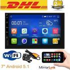 "Android 5.1 3G WIFI 7"" Double 2DIN Car Radio Stereo MP3 Player GPS Nav Camera BD  Price 123.5 USD 57 Bids. End Time: 2017-01-12 20:10:39 PDT"
