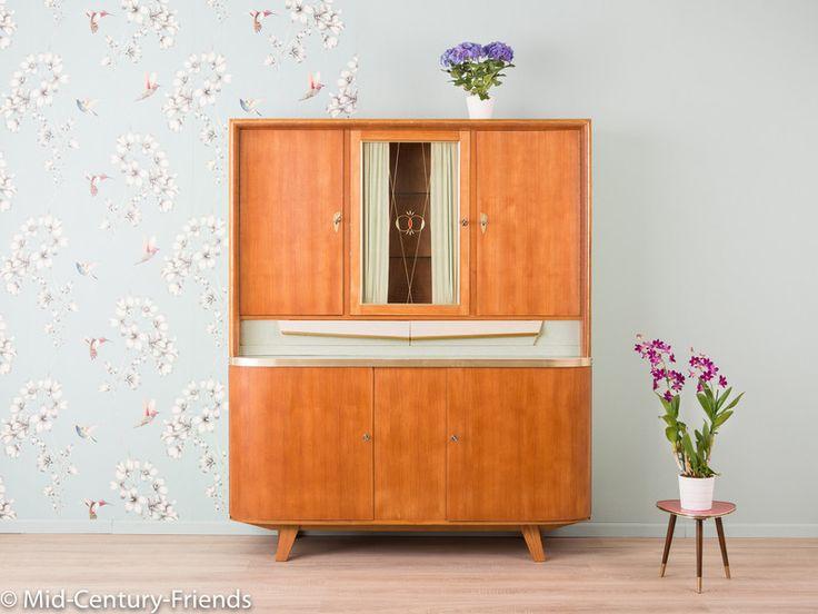 Die besten 25+ 1950er Jahre zu Hause Ideen auf Pinterest 1950er - küchenschrank mit arbeitsplatte