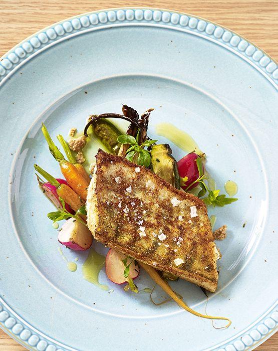 RuisSipseillä paneroitua kalaa & vihanneksia #linkosuo #RuisSipsit #paneroitu
