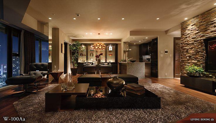 モデルルーム|室内空間|DEUX TOURS(ドゥ・トゥール)|都営大江戸線沿い、中央区晴海、勝どきのマンション|住友不動産