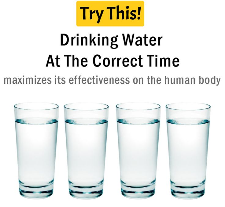 Drink Water: Drinking Water At The Correct Time - Health Tips - Try This!