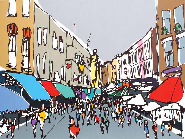 Portobello Market - Rachel Tighe