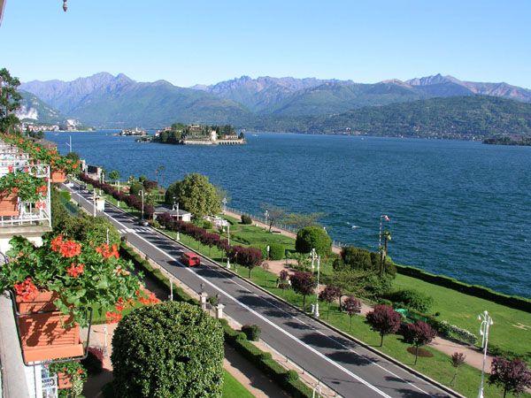 Stresa, Italy on Lake Maggiore