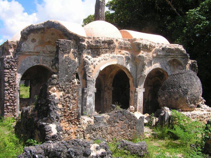 Omani Ruins Kilwa island Tanzania