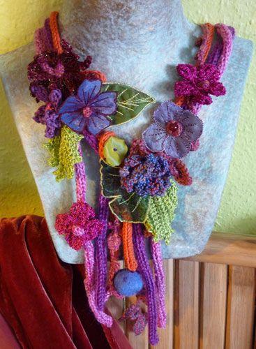 crafty jewelry: elegant crocheted ornaments! inspiring! | make handmade, crochet, craft