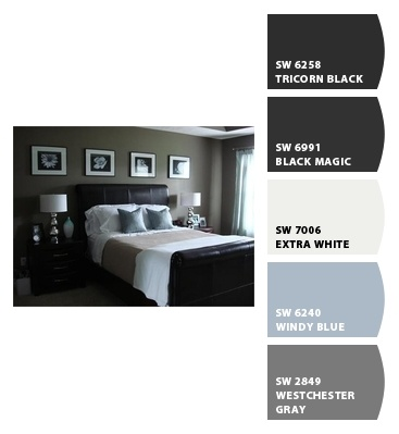 Sherwin Williams colors...master bedroom