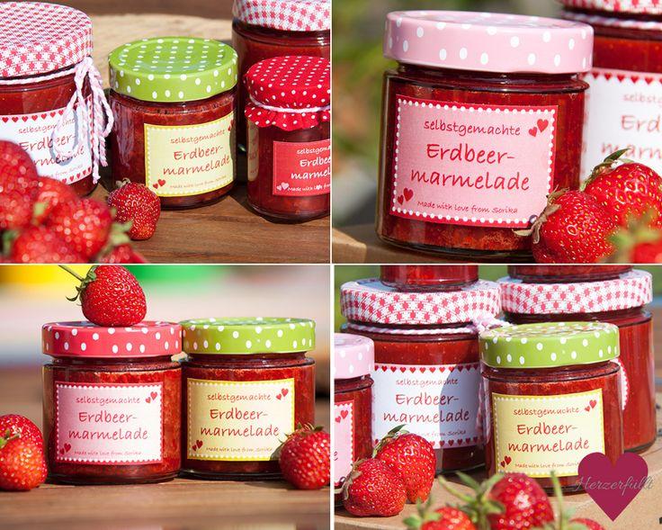 Marmeladenetiketten runterladen download kostenlos