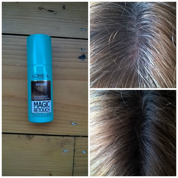 Review: L'Oreal Paris Magic Retouch Instant Root Concealer Spray #hair #beauty