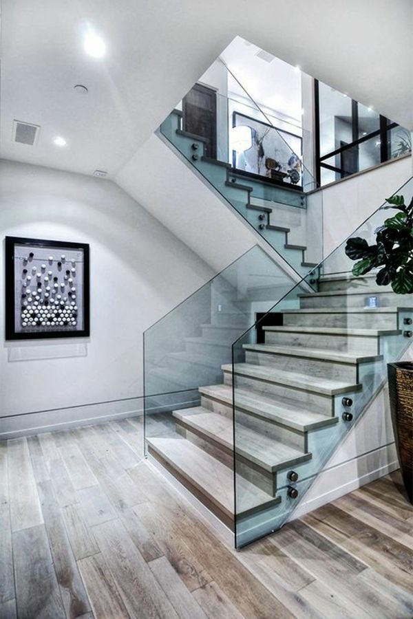 45 best escalier images on pinterest staircases stairs and house design. Black Bedroom Furniture Sets. Home Design Ideas