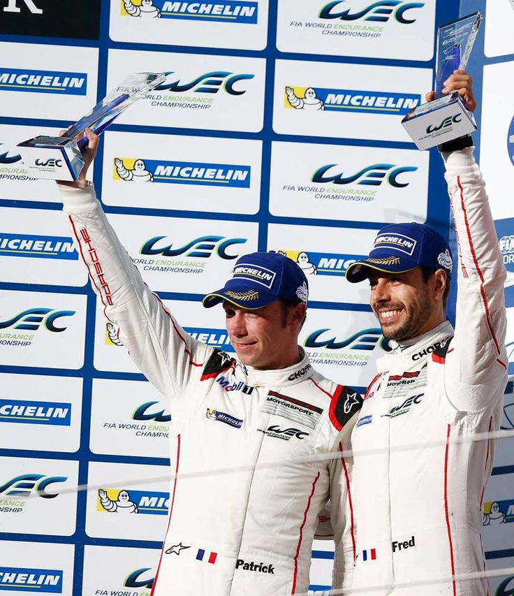 6 Horas de Fuji. Segunda posición en la categoría GTE Pro del #911RSR Nº92 pilotado por Pilet y Makawiecki.