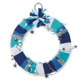 Sparkle Star Wreath Craft Kit
