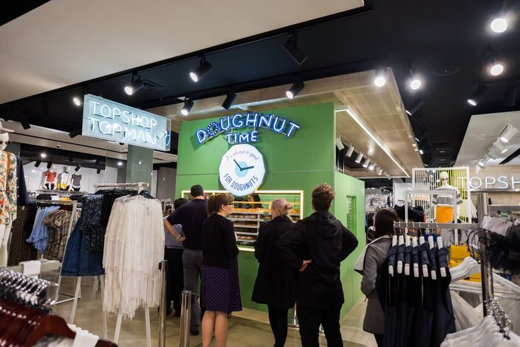 FEAR NOT - we haven't left the CBD! Our Topshop location is now on Level Two. Simply stroll up the escalator and you'll be face to face with our hand-made creations! Simple as that smile emoticon  And in the spirit of announcements, we're popping up in a NEW LOCATION! Can you guess which Brisbane suburb #doughnuttime is coming to next?
