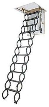 ladders to attic ideas | ... Scissor Attic Ladder - modern - ladders and step stools - by Hayneedle