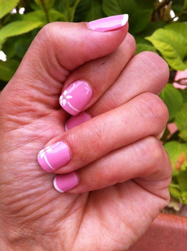 Otro modelo en rosa