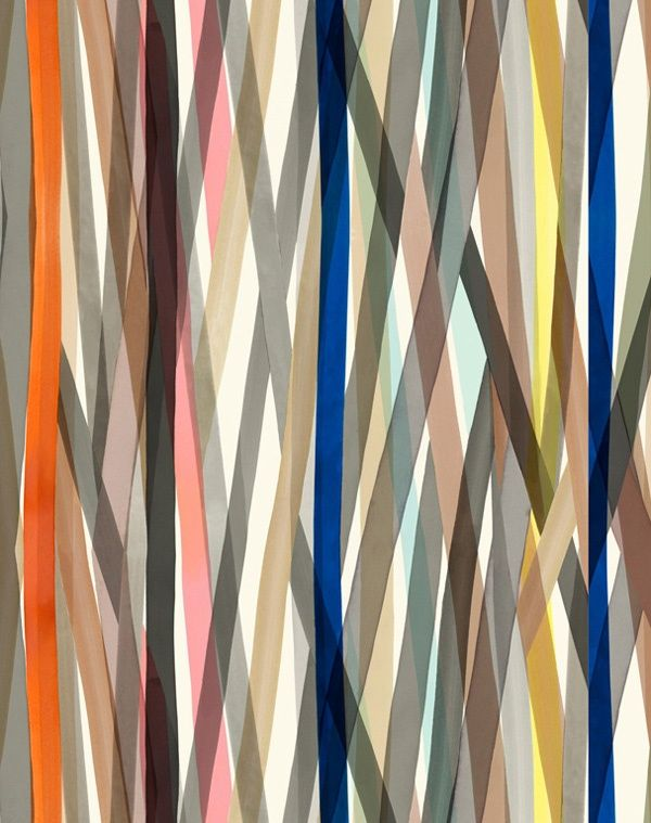 stripes : the fashion designer Paul Smith's