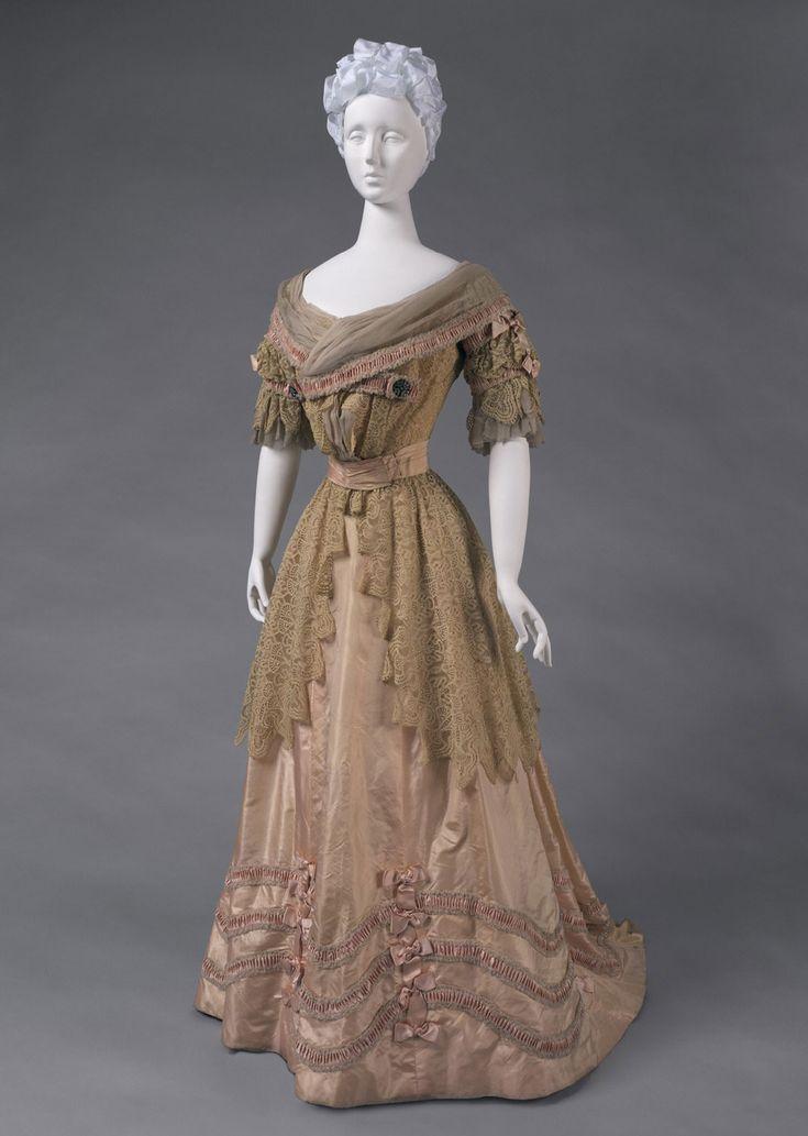 Philadelphia Museum of Art - Woman's Dress: Skirt and Bodice c.1905