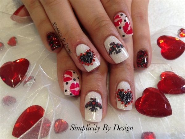 421 best images about Valentines Day Nail Art on Pinterest ...
