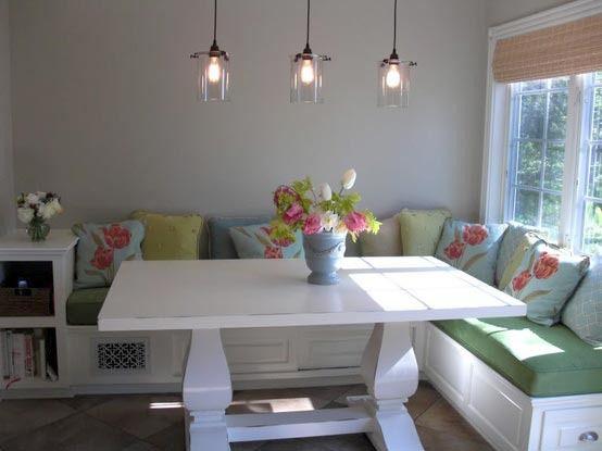 M s de 25 ideas fant sticas sobre asientos de banco de for Small eating area ideas