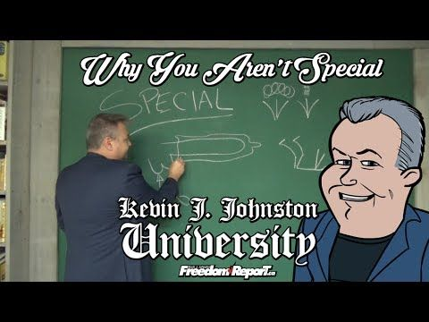 Why You Arent Special The Best University Lecture Ever with Kevin J  Joh...