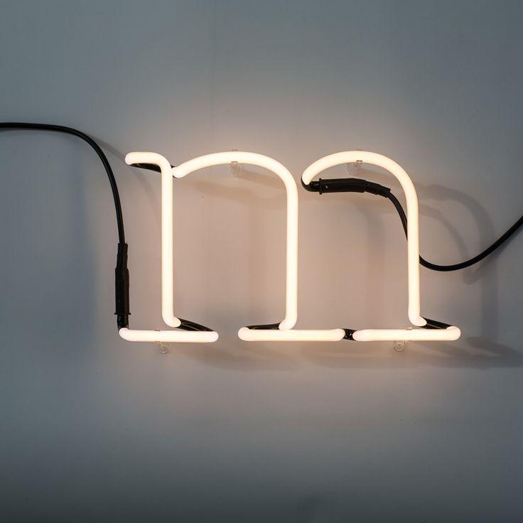 Seletti Neon M White