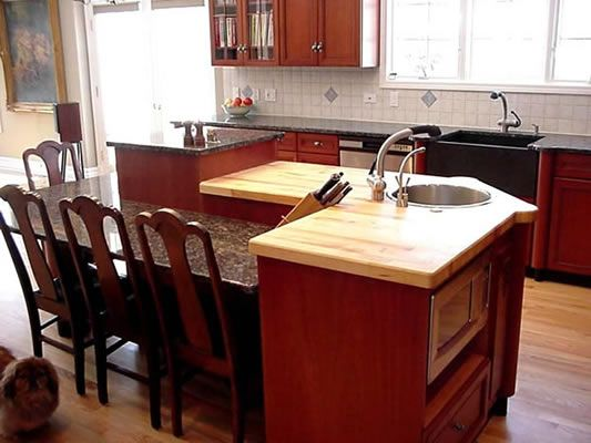17 best images about kitchen island ideas on pinterest for Building a kitchen island with seating