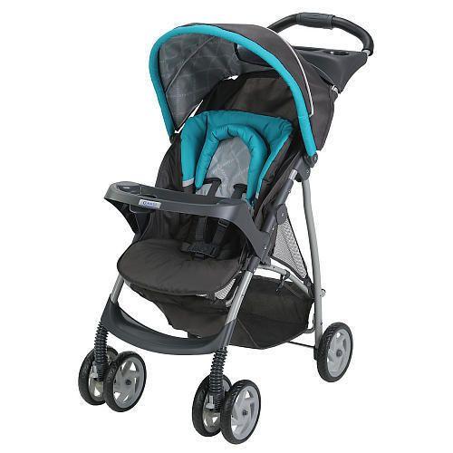 Baby Stroller Graco LiteRider Click Connect Stroller - Finch