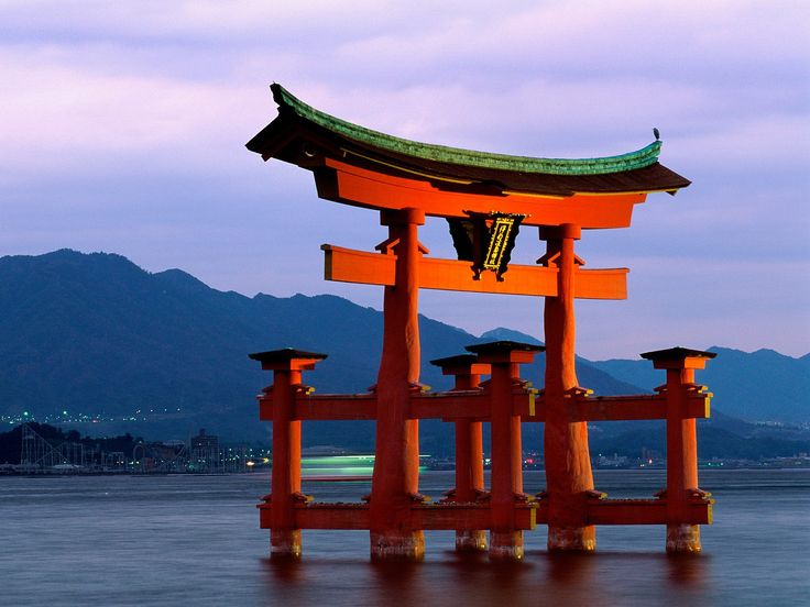 Grand Gate, Itsukushima Shrine, Miyajima  