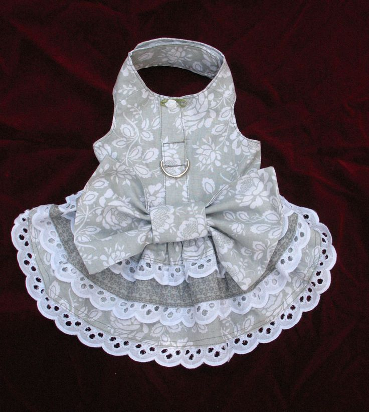 Dog Harness Dress X Small. $29.00, via Etsy.