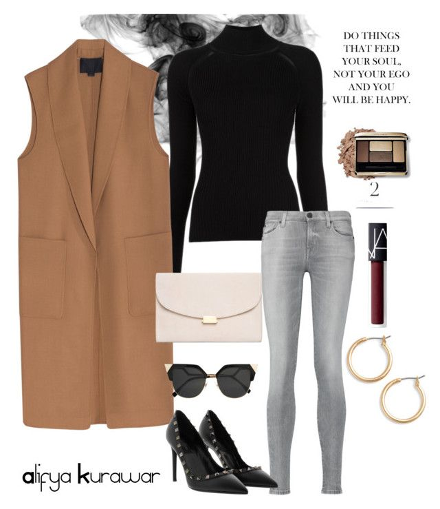 """Winter ready!"" by alifya-kurawar on Polyvore featuring Misha Nonoo, Alexander Wang, 7 For All Mankind, Fendi, Mansur Gavriel, NARS Cosmetics and Nordstrom"