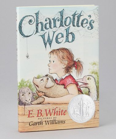 96 best books worth reading images on pinterest book lists books a classic charlottes web from harpercollins on zulily fandeluxe Choice Image