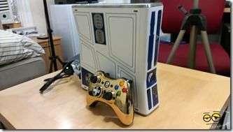 Limited Edition Kinect Star Wars Xbox 360 Bundle Unboxing in pics