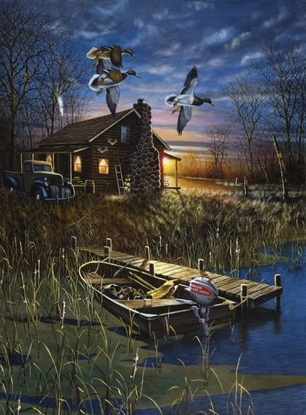 Jim Hansel 1960, American painter, was born in Chaska, MN. and began painting at the age of 15. He developed his artistic skills while attending the University of Minnesota, where he graduated with a B.F.A. degree in commercial art in 1985. In 1989, Hansel was a featured artist in the Courage Card Collection. He was also a semi-finalist in the Minnesota Deer Hunter's Assn. print competition, several times, a finalist in the Colorado Duck Stamp Competition.