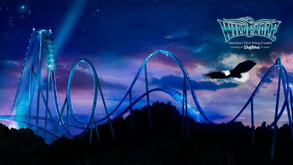 dollywood eagle ride | Wild Eagle winged coaster to debut at Dollywood in 2012 - Los Angeles ...