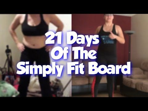Take a peek into my channel here  SIMPLY FIT BOARD REVIEW – 21 Days of Simply Fit – Dana Does https://youtube.com/watch?v=DJU5h0ZXs_A