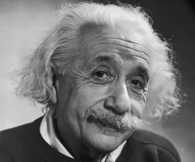 """5. Albert Einstein As many are aware, Albert Einstein is simply one of the most well-known geniuses in history. In 1999 Einstein was given the title, """"Person of the Century"""" by Time Magazine. It was given to him for his concepts on time and space, as well as his contentious formula (E=mc x mc) for mass-energy equivalence. Read more at http://herbeat.com/5-smartest-people-ever/#cpZu1Gtij3CxImRZ.99"""