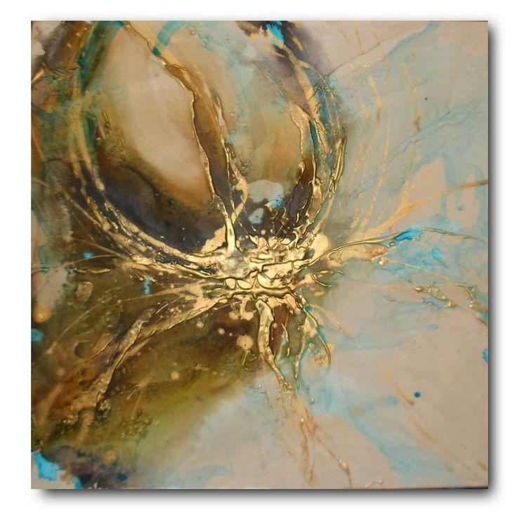 Autumn Lotus 2 original painting
