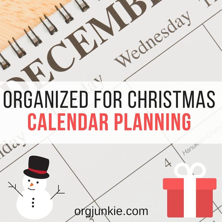 138 best organized christmas images on pinterest organized organized for christmas calendar planning fandeluxe Gallery