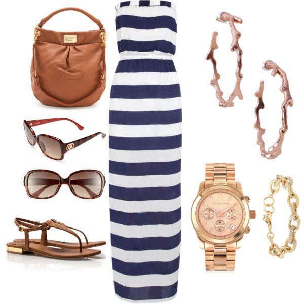 """""""summer maxi outfit"""" by playters on Polyvore"""