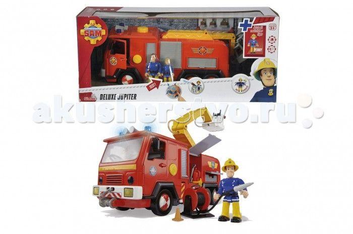 Simba Игровой набор Пожарный См Пожарна машина  Simba Игровой набор Пожарный См Пожарна машина + 2 фигурки.  Особенности: Пожарный См вклчает в себ фигурки двух пожарных-спасателей и модель пожарной машины.  Очень познавательна и сделанна с высоким качеством игрушка. Поступил сигнал тревоги - незамедлительно выезжайте на помощь.  Вклчите сирену и ркие предупреждащие огни дл быстрого прибыти на место пожара.  В распоржении специальный гибкий шланг, а также выдвижна лестница, чтобы…