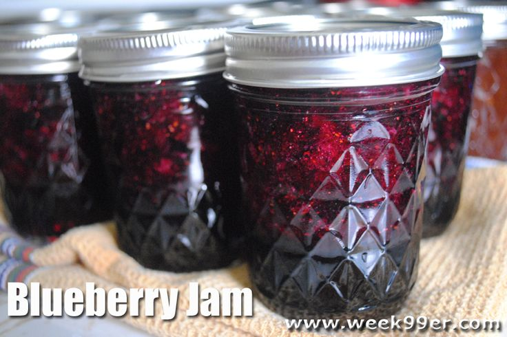 It's easy to make your favorite jams at home and Blueberry Jam is one of our favorites!
