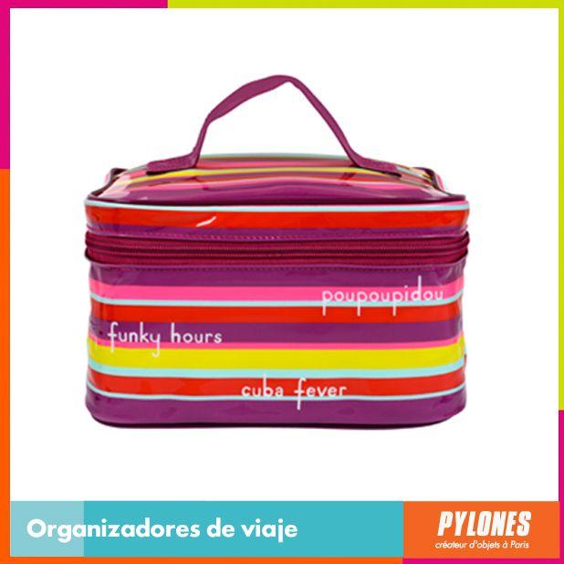Organizador de viaje morado #SemanaSanta #Santo #Vacaciones  @pylonesco