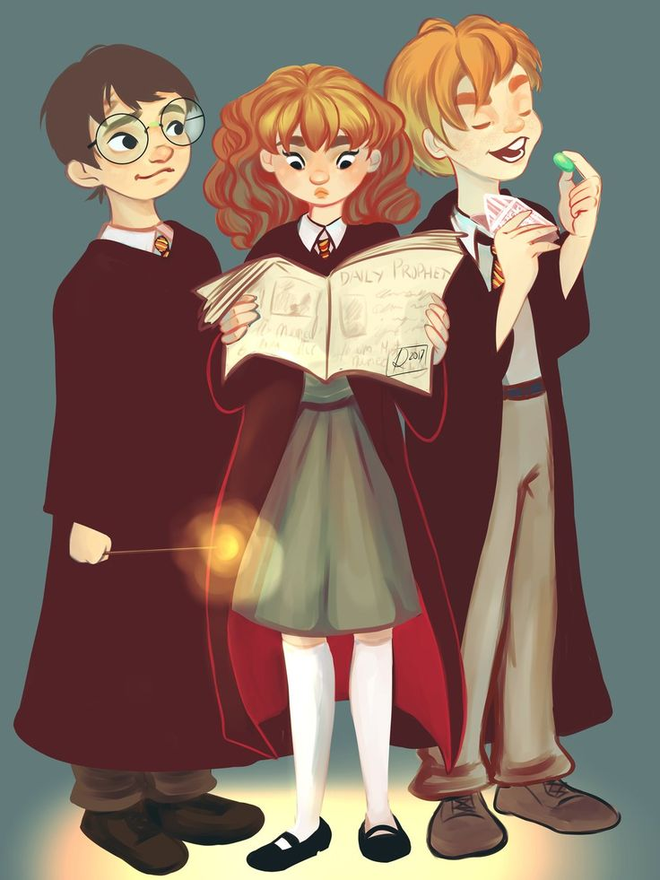 Harry Potter by Rachel12art