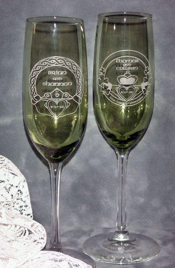 Hey, I found this really awesome Etsy listing at http://www.etsy.com/listing/93502770/irish-claddagh-wedding-toasting