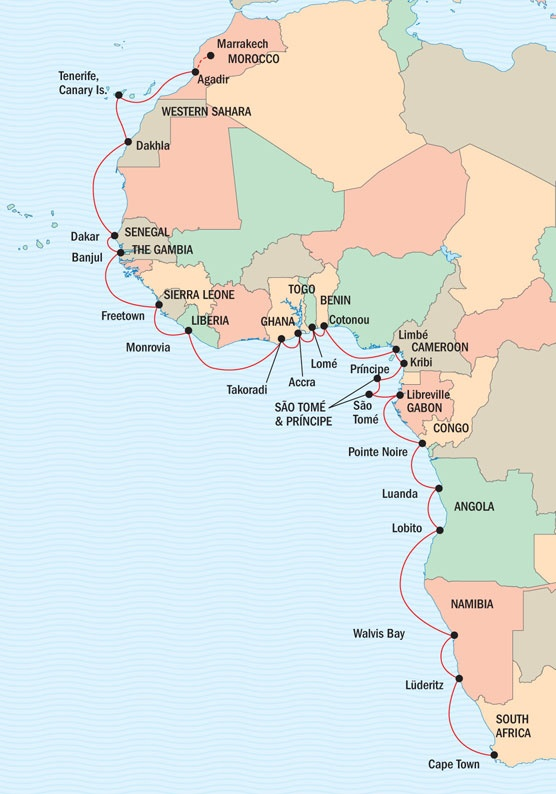 West African Odyssey Exploring from South Africa to Morocco