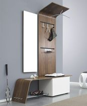Contemporary wall unit for entrance hall
