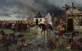 NTK: The 30 Years' War- The 30 Years War(1618-1648)  was originally between the Catholic forces and Bohemian Protestant nobles. Soon, Denmark, France, Spain, and Sweden joined in which shifted the war from a religious conflict to a political battle. Although many Germanic hierarchies were wiped out, The Thirty Years' War granted land to some countries and divided the Holy Roman Empire into 300 individual states which gave the people living there freedom of religion and conduct foreign…