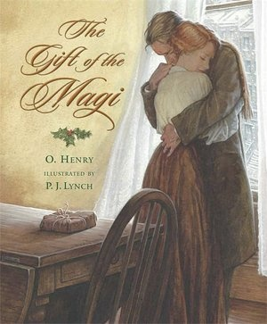 This book has gorgeous illustrations- i loved it when i was little. The classic short story in which a young husband and wife each, unbeknownst to the other, gives up a most treasured possession to buy the other a wonderful gift.