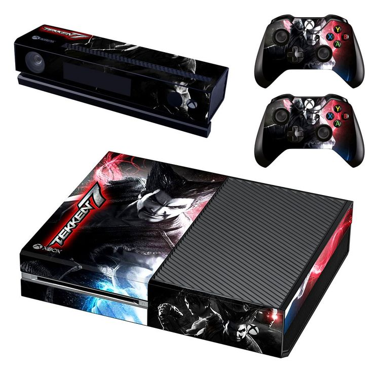 Tekken 7 xbox one skin decal for console and 2 controllers