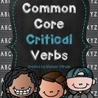 Are your students struggling with understanding the critical verbs in the Common Core Standards?  These verbs are tricky and students cannot perfor...